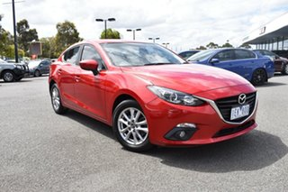 2015 Mazda 3 BM5278 Touring SKYACTIV-Drive Red/Black 6 Speed Sports Automatic Sedan.