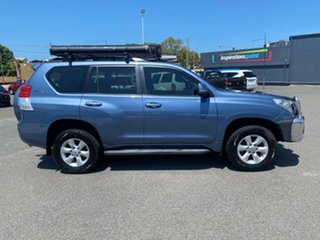 2009 Toyota Landcruiser Prado KDJ150R GXL Blue 6 Speed Manual Wagon.