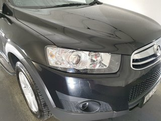 2013 Holden Captiva CG MY13 7 SX Black 6 Speed Sports Automatic Wagon.