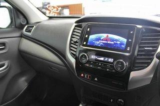 2017 Mitsubishi Triton MQ MY18 GLS (4x4) White 5 Speed Automatic Dual Cab Utility