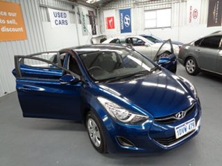 2012 Hyundai Elantra MD Active Blue 6 Speed Sports Automatic Sedan