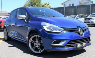 2017 Renault Clio IV B98 Phase 2 GT-Line EDC Blue 6 Speed Sports Automatic Dual Clutch Hatchback.