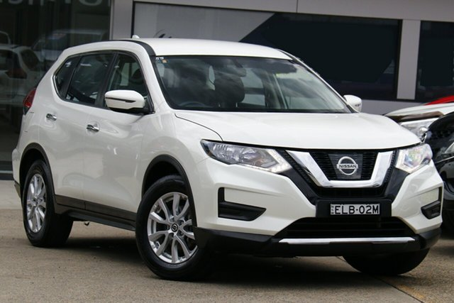 Used Nissan X-Trail T32 Series II ST X-tronic 4WD Homebush, 2019 Nissan X-Trail T32 Series II ST X-tronic 4WD White 7 Speed Constant Variable Wagon