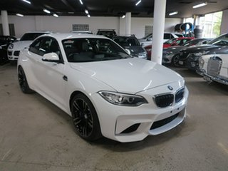 2016 BMW M2 F87 Alpine White 6 Speed Manual Coupe.