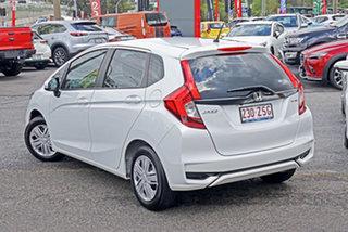 2020 Honda Jazz GF MY20 VTi White 5 Speed Manual Hatchback.