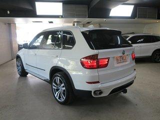 2010 BMW X5 E70 MY11 xDrive30d Steptronic White 8 Speed Sports Automatic Wagon