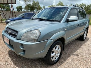 2005 Hyundai Tucson JM Elite Blue 4 Speed Sports Automatic Wagon.