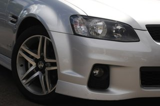 2012 Holden Commodore VE II MY12 SV6 Silver 6 Speed Sports Automatic Sedan