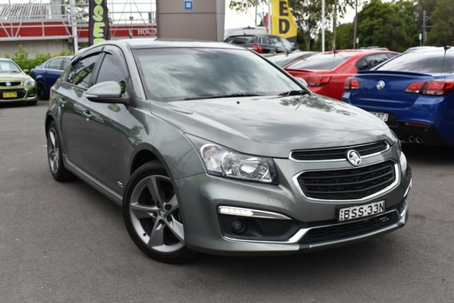 Used Holden Cruze JH Series II MY16 SRI Z-Series Tuggerah, 2016 Holden Cruze JH Series II MY16 SRI Z-Series Grey 6 Speed Sports Automatic Hatchback