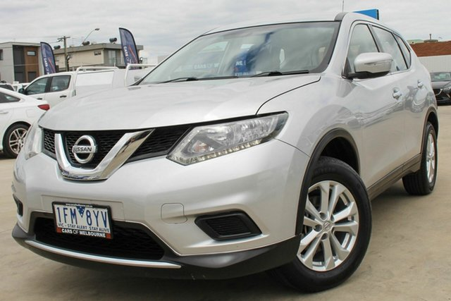 Used Nissan X-Trail T32 ST 2WD Coburg North, 2015 Nissan X-Trail T32 ST 2WD Silver 6 Speed Manual Wagon