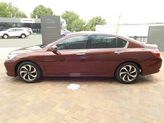 2016 Honda Accord 9th Gen MY16 VTi Red 5 Speed Sports Automatic Sedan.