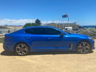 2017 Kia Stinger CK MY18 GT Fastback Blue 8 Speed Sports Automatic Sedan.