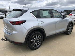 2019 Mazda CX-5 KF4WLA GT SKYACTIV-Drive i-ACTIV AWD Sonic Silver 6 Speed Sports Automatic Wagon.