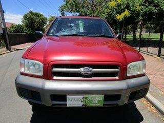 1999 Nissan Pathfinder ST (4x4) Red 4 Speed Automatic 4x4 Wagon.