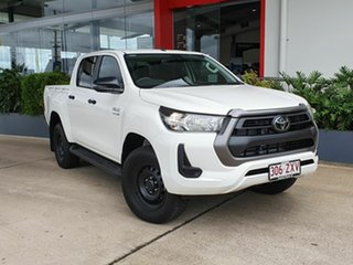 2020 Toyota Hilux SR White 6 Speed Automatic Dual Cab.