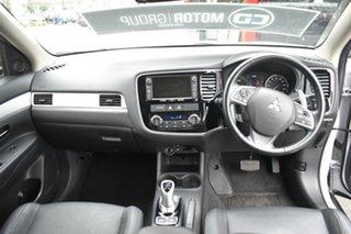 2014 Mitsubishi Outlander ZJ MY14.5 PHEV AWD Aspire White 1 Speed Automatic Wagon Hybrid