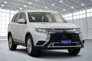 2020 Mitsubishi Outlander ZL MY20 ES AWD ADAS Starlight 6 Speed Constant Variable Wagon.