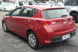 2013 Toyota Corolla ZRE152R Ascent Red 4 Speed Automatic Sedan