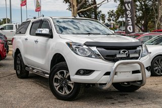 2017 Mazda BT-50 UR0YG1 GT White 6 Speed Sports Automatic Utility.