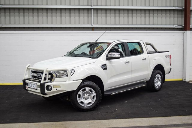 Used Ford Ranger PX MkII XLT Double Cab Canning Vale, 2016 Ford Ranger PX MkII XLT Double Cab White 6 Speed Manual Utility