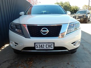2016 Nissan Pathfinder R52 MY16 ST X-tronic 2WD White 1 Speed Constant Variable Wagon