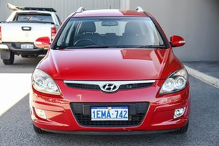 2012 Hyundai i30 FD MY11 SLX cw Wagon Red/Black 4 Speed Automatic Wagon