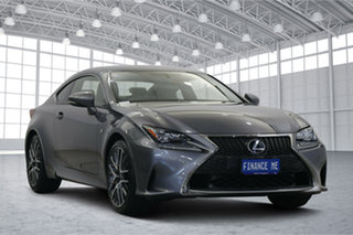 2014 Lexus RC GSC10R RC350 F Sport Grey 8 Speed Sports Automatic Coupe.