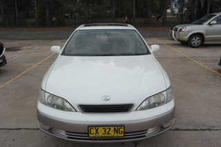 1997 Lexus ES MCV20R ES300 LXS White 4 Speed Automatic Sedan.