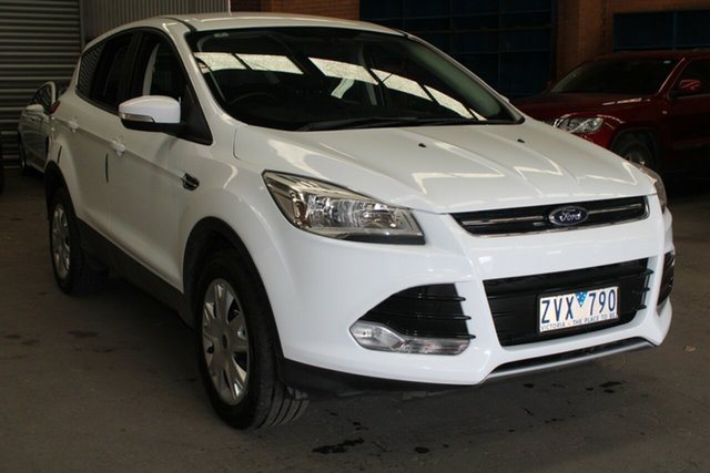 Used Ford Kuga TF Ambiente (AWD) West Footscray, 2013 Ford Kuga TF Ambiente (AWD) White 6 Speed Automatic Wagon