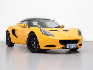 2013 Lotus Elise MY12 Upgrade Solar Yellow 6 Speed Manual Roadster.
