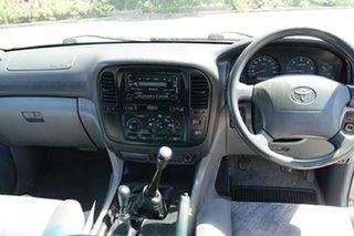 2002 Toyota Landcruiser HZJ105R (4x4) Silver 5 Speed Manual 4x4 Wagon