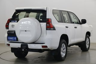 2019 Toyota Landcruiser Prado GDJ150R GX White 6 Speed Sports Automatic Wagon