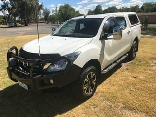 2018 Mazda BT-50 XTR (4x4) (5Yr) White 6 Speed Automatic Dual Cab Utility.