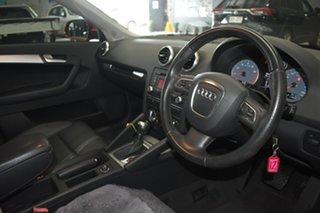 2012 Audi A3 8P MY13 Sportback 1.8 TFSI Ambition Red 7 Speed Auto Direct Shift Hatchback.