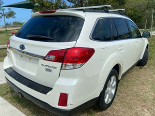 2011 Subaru Outback B5A MY12 2.0D AWD White 6 Speed Manual Wagon