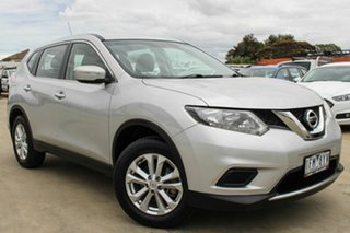 2015 Nissan X-Trail T32 ST 2WD Silver 6 Speed Manual Wagon