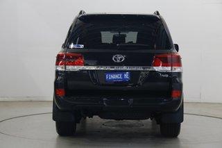 2020 Toyota Landcruiser VDJ200R GXL Eclipse Black 6 Speed Sports Automatic Wagon