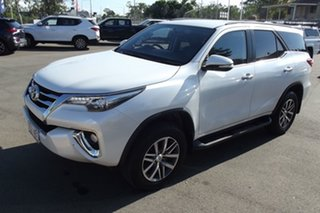 2015 Toyota Fortuner GUN156R Crusade i-MT White 6 Speed Manual Wagon