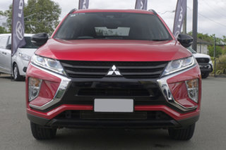 2019 Mitsubishi Eclipse Cross YA MY20 Black Edition 2WD Red Diamond 8 Speed Constant Variable Wagon