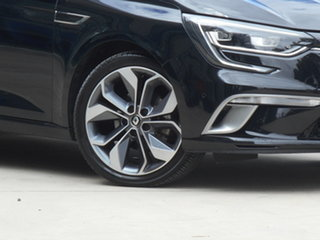 2017 Renault Megane BFB GT-Line EDC Black 7 Speed Sports Automatic Dual Clutch Hatchback.