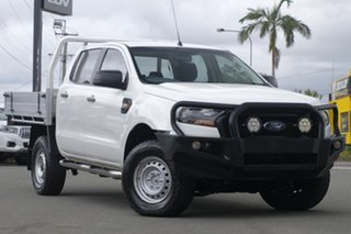2016 Ford Ranger PX MkII XL Cool White 6 Speed Sports Automatic Cab Chassis.