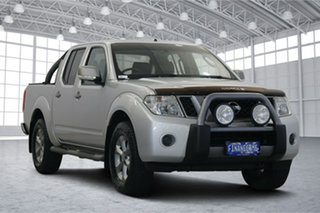 2014 Nissan Navara D40 S6 MY12 ST Silver 5 Speed Sports Automatic Utility.