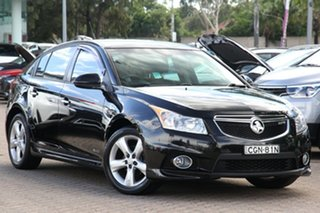2011 Holden Cruze JH MY12 SRi Black 6 Speed Automatic Hatchback.