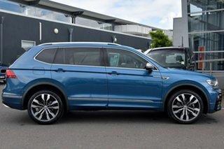 2018 Volkswagen Tiguan 5N MY18 162TSI Highline DSG 4MOTION Allspace Blue 7 Speed.