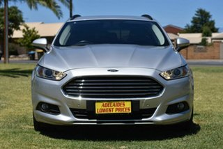 2016 Ford Mondeo MD Ambiente Silver 6 Speed Sports Automatic Dual Clutch Wagon.