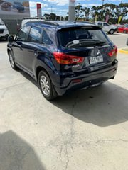 2010 Mitsubishi ASX XA MY11 2WD Blue 6 Speed Constant Variable Wagon