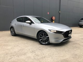 2020 Mazda 3 BP2H7A G20 SKYACTIV-Drive Evolve Sonic Silver 6 Speed Sports Automatic Hatchback.