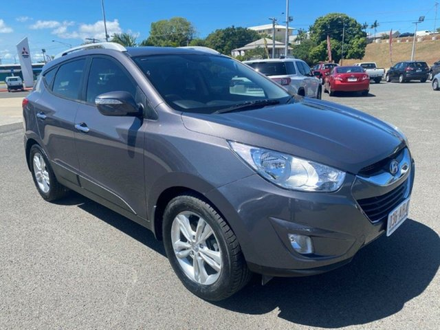 Used Hyundai ix35 LM Elite AWD Gladstone, 2010 Hyundai ix35 LM Elite AWD Grey 6 Speed Sports Automatic Wagon