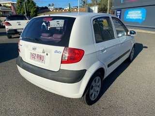 2010 Hyundai Getz TB MY09 S White 5 Speed Manual Hatchback.
