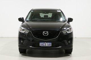 2013 Mazda CX-5 Grand Tourer (4x4) Black 6 Speed Automatic Wagon.